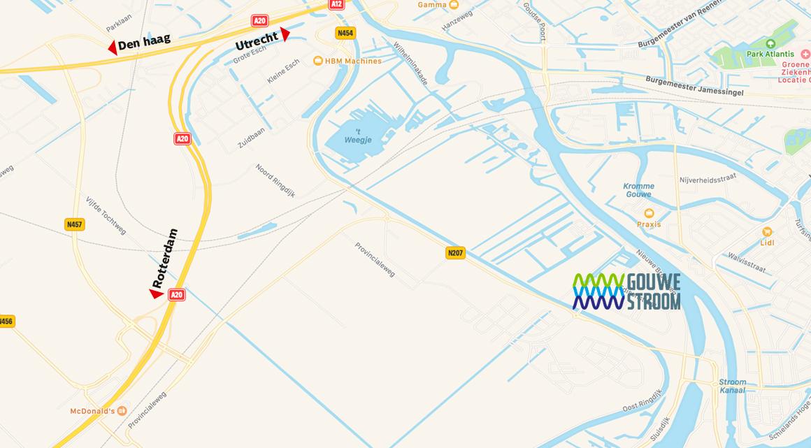 Routekaart_gouwestroom